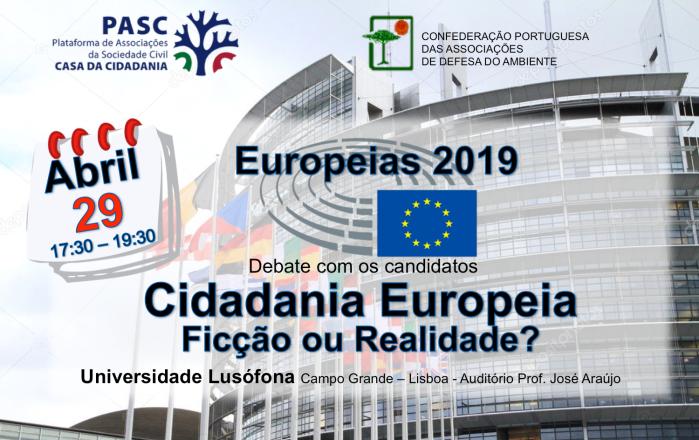 Cartaz Europeias 2019 PASC CPADA