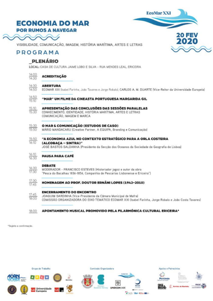 Ecomar 2020 Programa