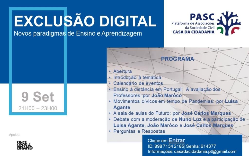 Esta imagem tem um texto alternativo em branco, o nome da imagem é pasc-cartaz-sessao-no2-exclusao-digital-novos-paradigmas-de-ensino-e-aprendizagem.jpg