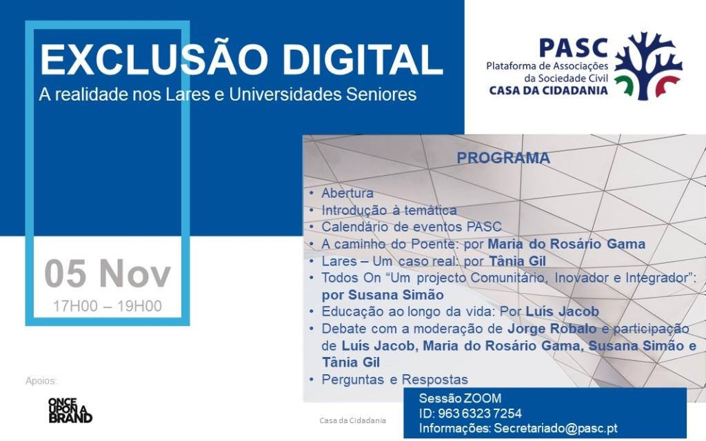 Esta imagem tem um texto alternativo em branco, o nome da imagem é pasc-cartaz-exclusacc83o-digital-4a-sessacc83o-a-realidade-nos-lares-e-universidades-seniores-1.jpg